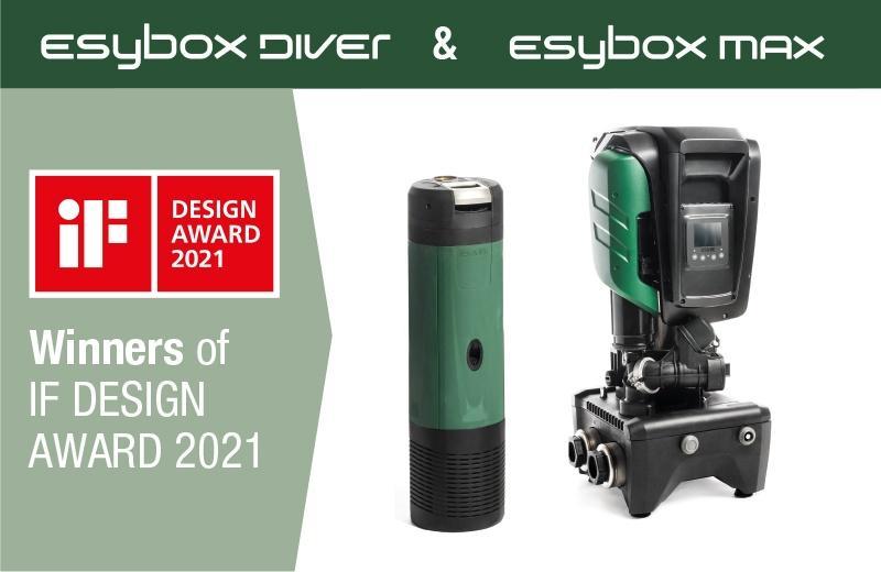 IF DESIGN AWARD 2021. Éxito de Dab Pumps